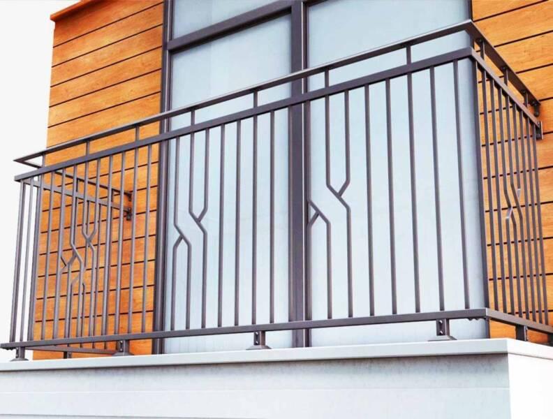"""Балконные ограждения и французские балконы """" сварочный цех м."""
