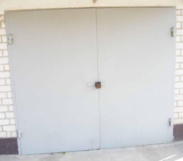 Ворота гаражные № 30