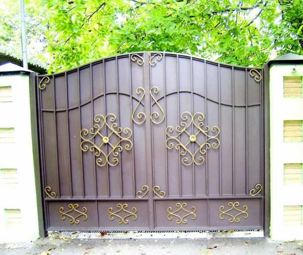 Ворота № в 107