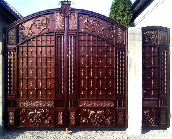 Ворота № в 116