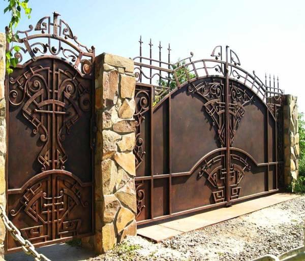 Ворота № в 120