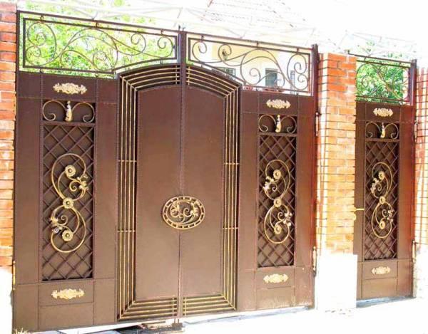 Ворота № в 121у