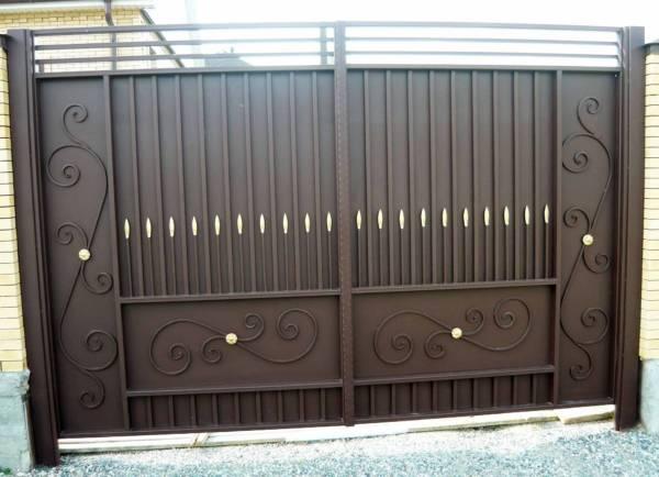 Ворота № в 16