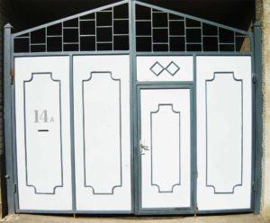 Ворота № в 21