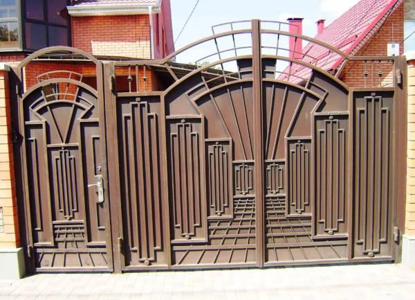 Ворота № в 34