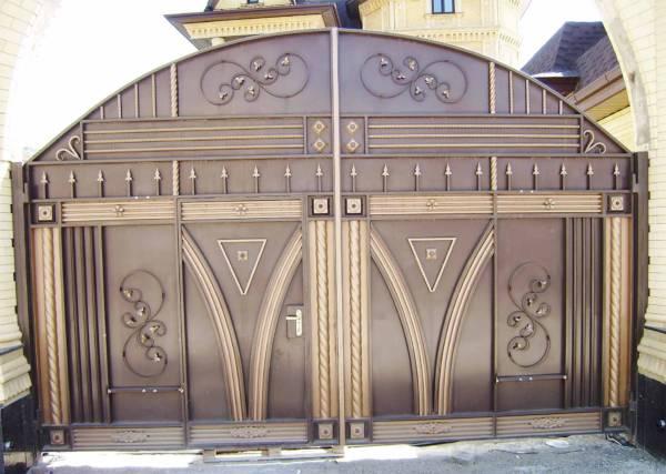 Ворота № в 35