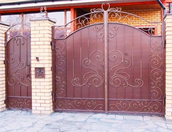 Ворота № в 43