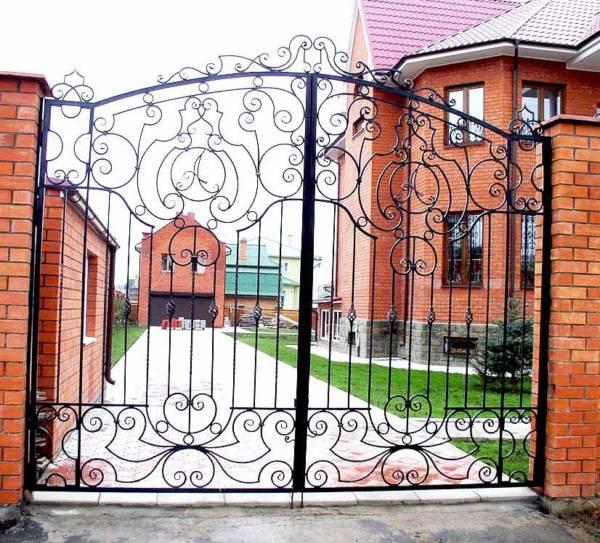 Ворота № в 45