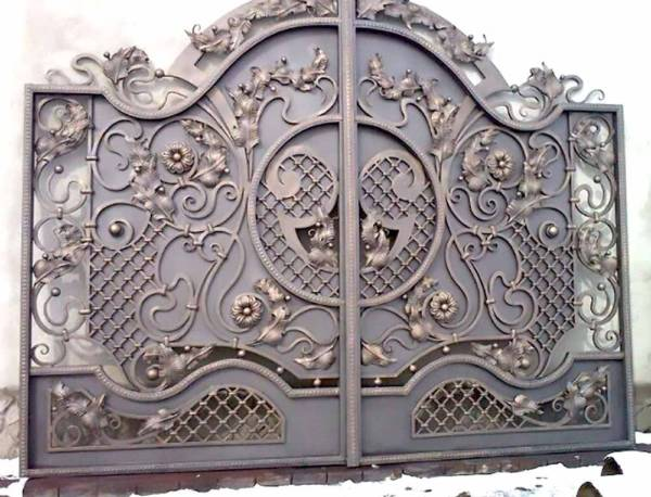 Ворота № в 55