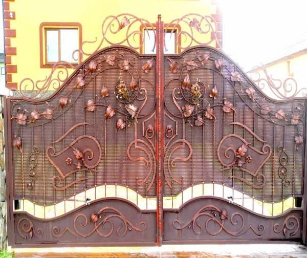 Ворота № в 73