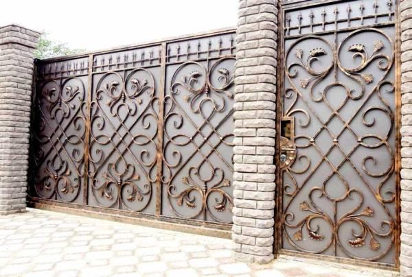 Ворота № в 74