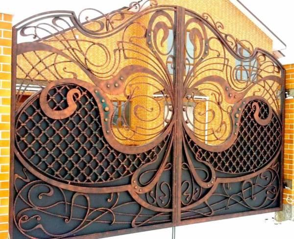 Ворота № в 75