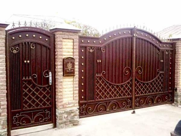 Ворота № в 76
