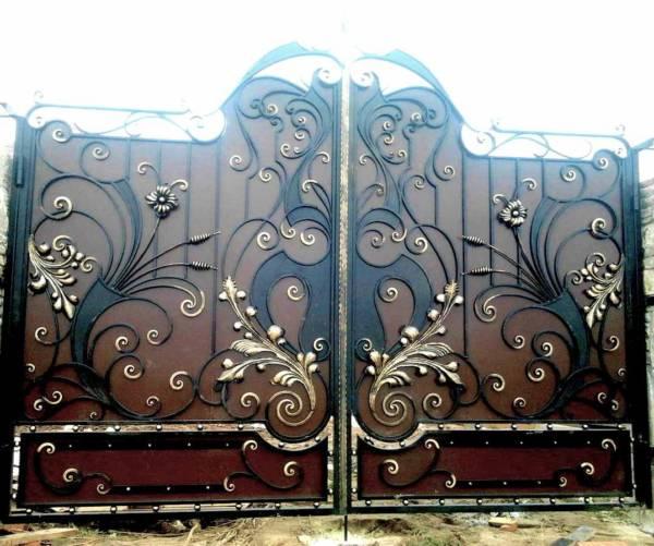 Ворота № в 85