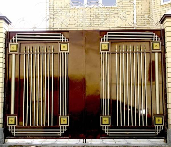 Ворота № в 90