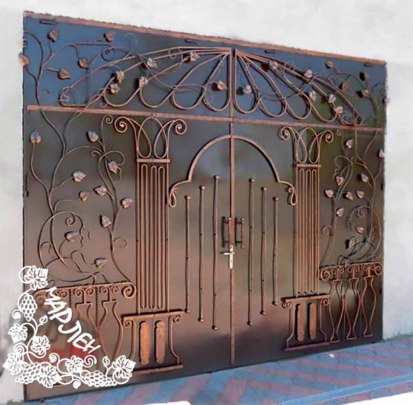 Гаражные ворота гв11