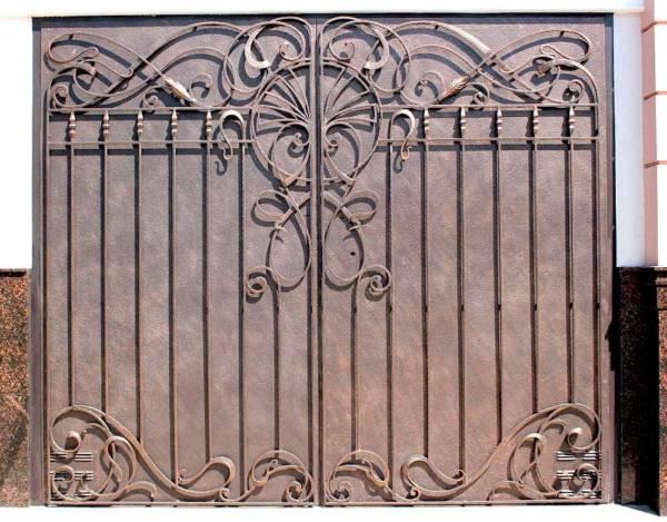 Гаражные ворота гв6