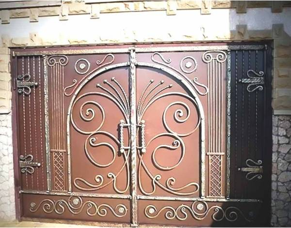 Гаражные ворота гв9