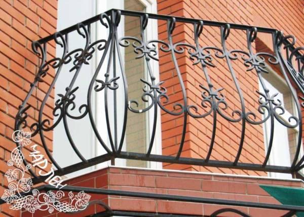 Балконное ограждение № 3 (Ночная купальщица)