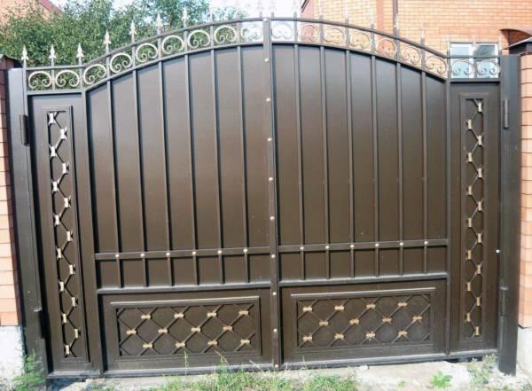 Ворота № в 13 (elegant)