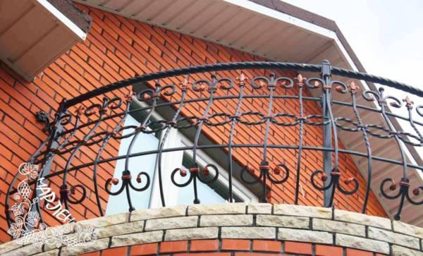 Балконное ограждение № 5 (Нежный стражник)