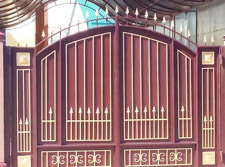 Ворота есентуки монтаж распашных ворот с калиткой