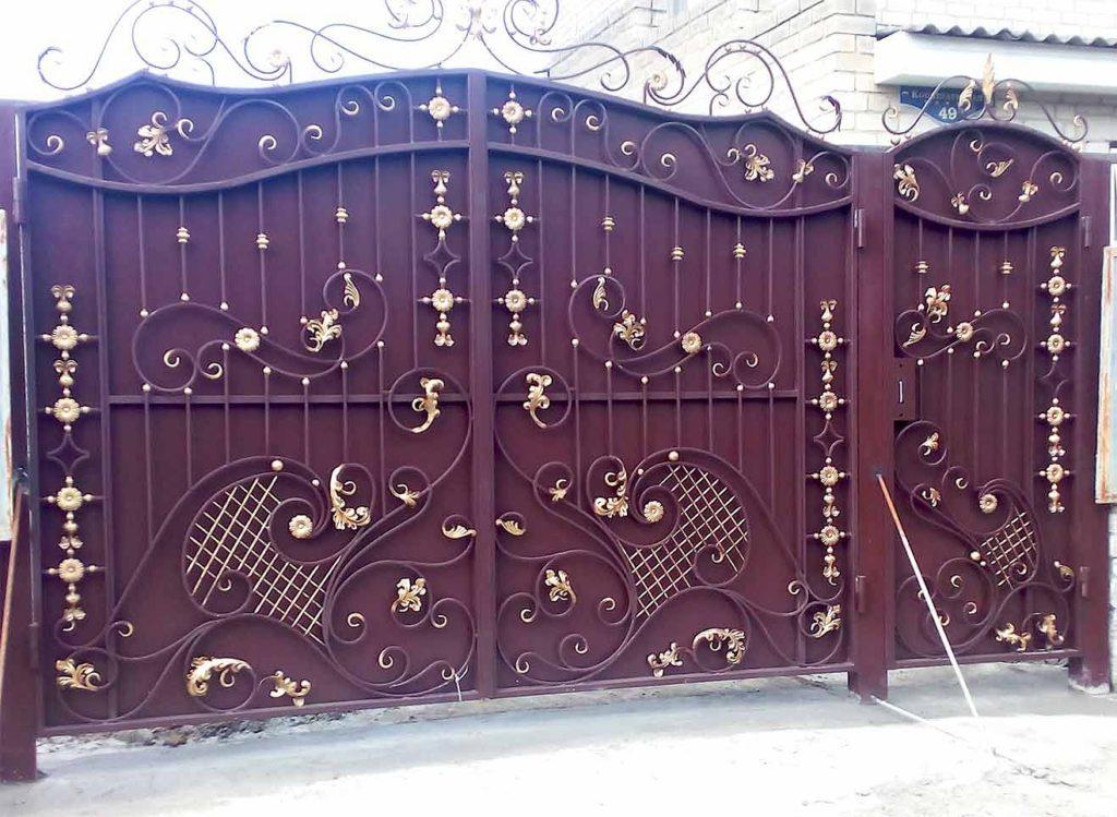 Ворота-№-вп7