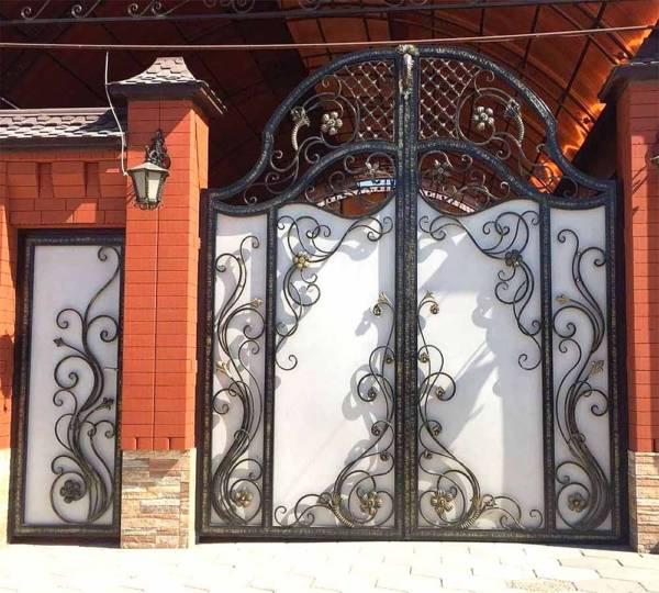 Ворота № в 123