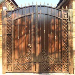 Ворота № в 124