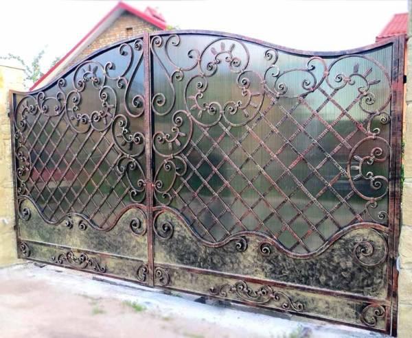 Ворота № в 139 (Колибри)