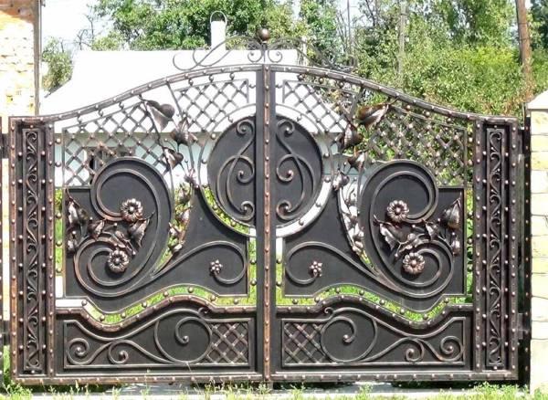 Ворота № в 141(Черный кофе)
