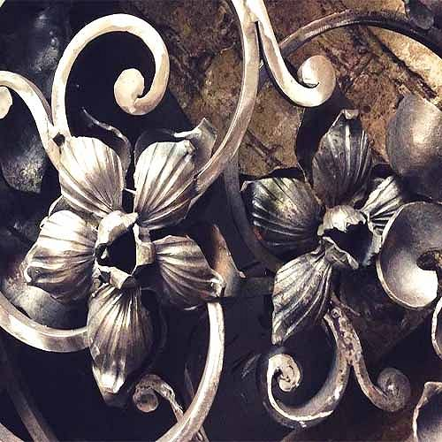 Кованный-элемент-цветы.