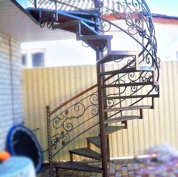 Лестница № лг12