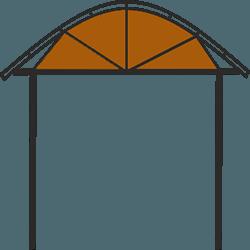 Форма-навеса-арка