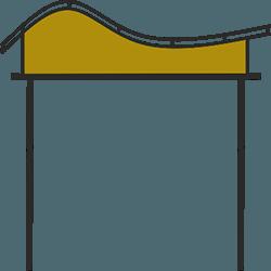 Форма-навеса-волной