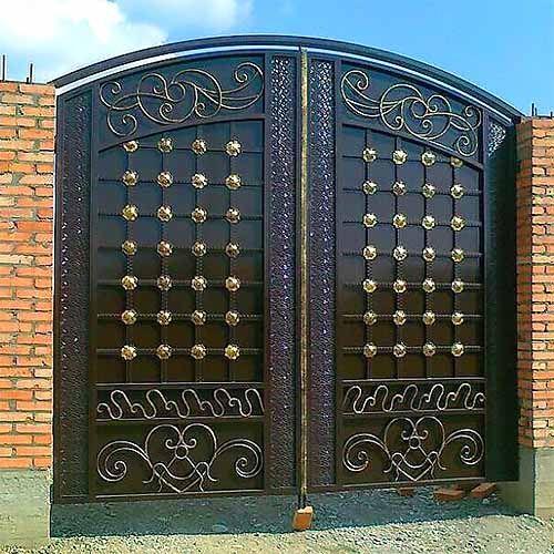 Ворота аркой