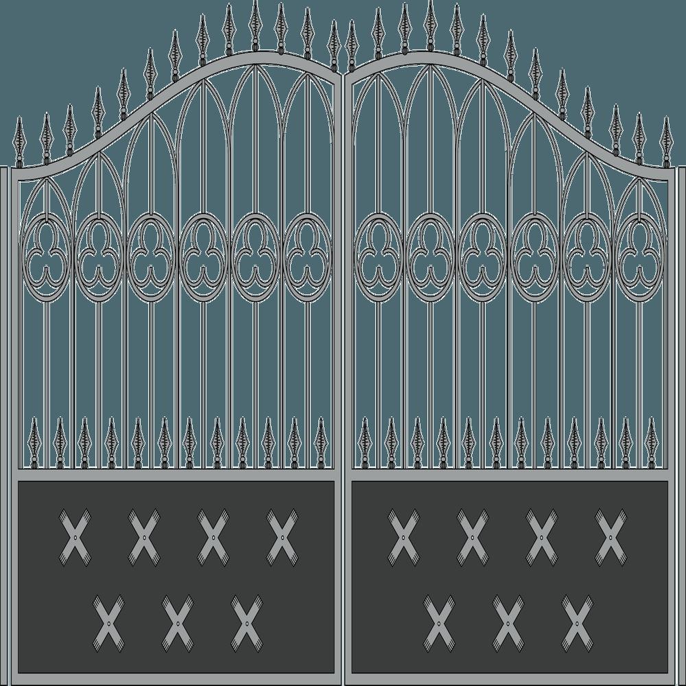 Ворота-крестик