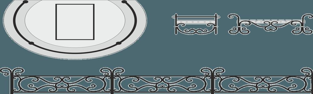 Лавочки-кованые