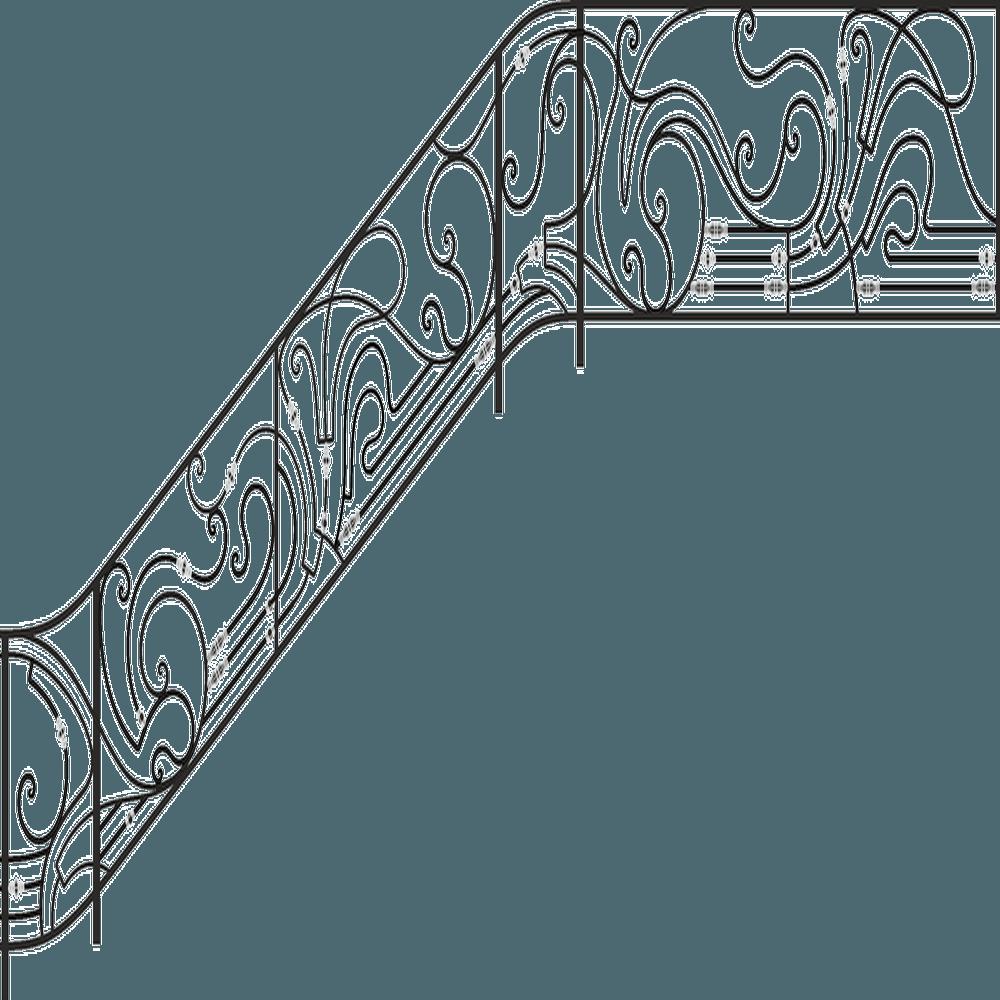Перила-кованые-вектор-2
