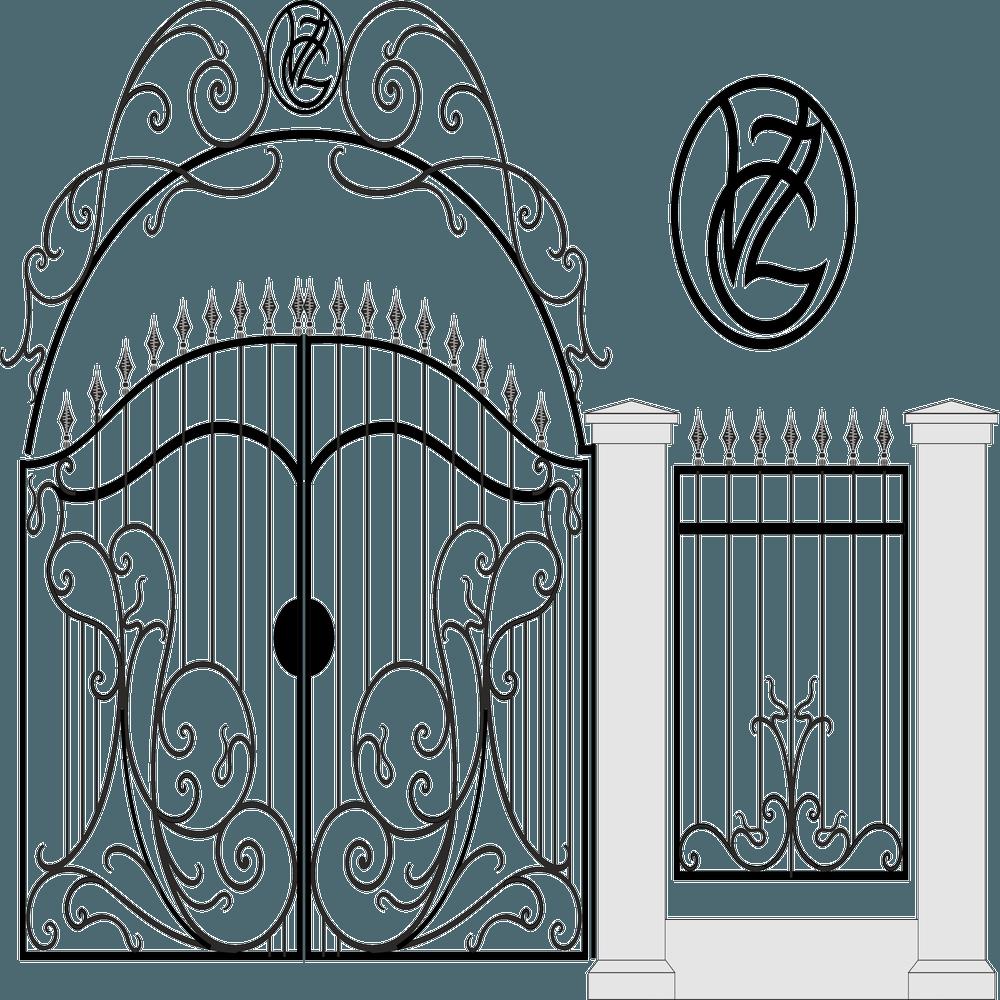 ворота вектор-5.