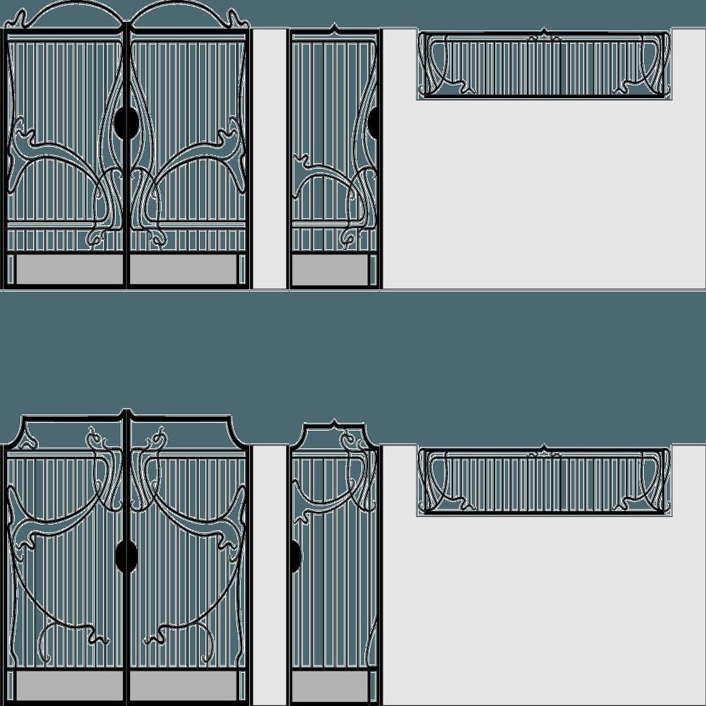 ворота-вектор1
